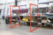 social distancing screens for factories