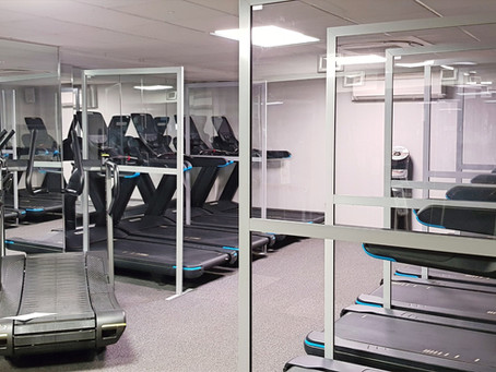 Health & Fitness Club Implements CGT Gym Screens