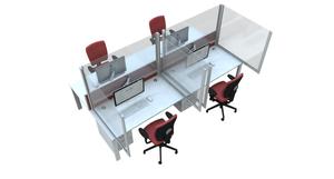 desk social distancing screen