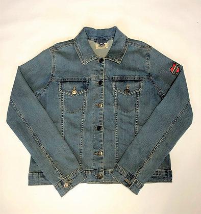 Ladies Budleigh Heart Denim Jacket