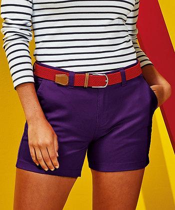 Asquith & Fox Ladies Chino Shorts