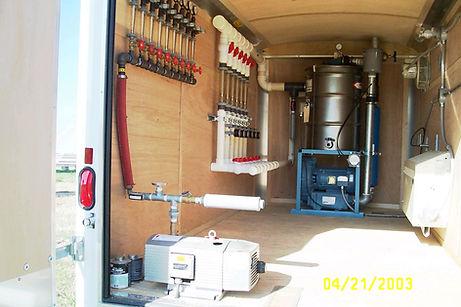 Solar vapor extraction- equipmenttrailer