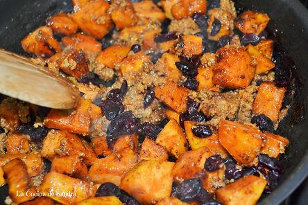 Turkey Stuffing-Receta Acción de Gracias-Thanksgiving Recipes-Cramberries Recipes-Pavo-Recetas Otoño