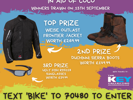 Win some GREAT riding kit!