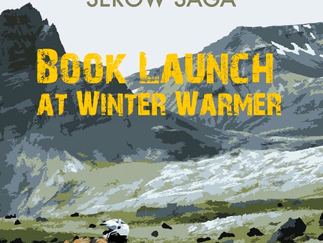 New book launch at Winter Warmer!