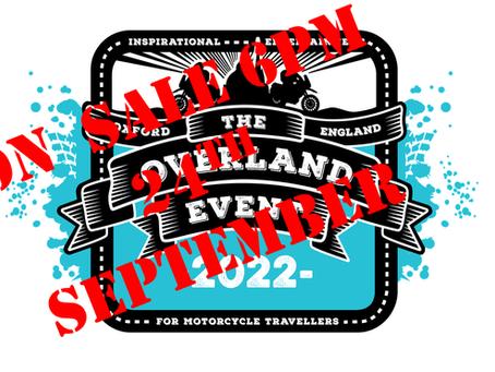 2022 Event passports on sale 24th Sept