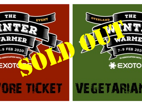 The Winter Warmer is sold out!