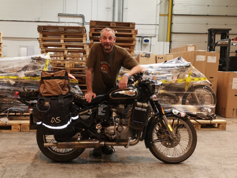 Nich Brown's Royal Enfield Bullet