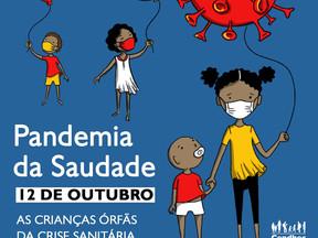 Pandemia da saudade: as crianças órfãs da crise sanitária