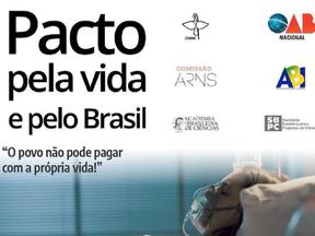 Pacto pela Vida e pelo Brasil: CNBB e demais signatários defendem medidas urgentes contra a pandemia
