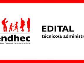 Resultado Final da seleção para Técnico/a Administrativo/a
