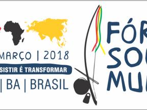 #FSM 2018: JusDh e parceiros realizam atividades sobre a relação entre o sistema de justiça e os dir