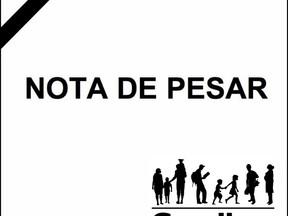 Nota de Pesar - Falecimento de Almeri  Bezerra de Melo
