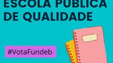 Novo Fundeb: Sem o CAQ (Custo Aluno-Qualidade) na Constituição, vamos premiar a fraude, diz procurad