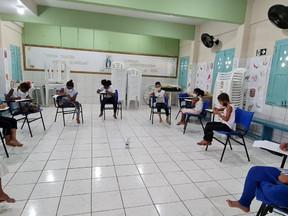 Cendhec realiza oficinas com crianças, adolescentes e mulheres da comunidade do Bode, no Pina