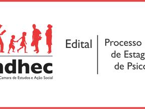 Cendhec lança edital para seleção de estagiário/a de Psicologia