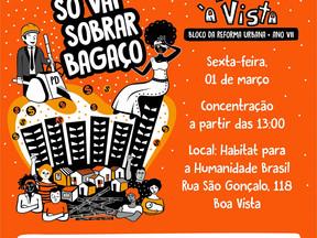 Terra à Vista prepara desfile pelas ruas do Recife