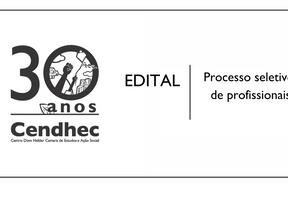 Cendhec lança edital para cadastro reserva de Psicólogo/a