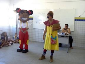 Campanha pelos Bons Tratos chega a escola municipal Vila Santa Luzia