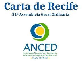 Carta de Recife - Em defesa da dignidade humana e da democracia