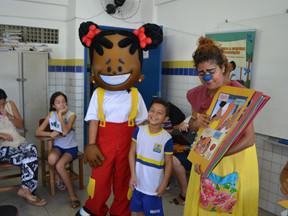 Nova ação da Campanha pelos Bons Tratos na escola Vila Santa Luzia