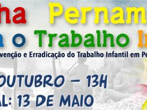 V Marcha Contra o Trabalho Infantil promete movimentar ruas do centro do Recife