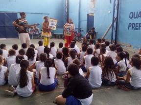 Ação da Campanha pelos Bons Tratos em Paulista