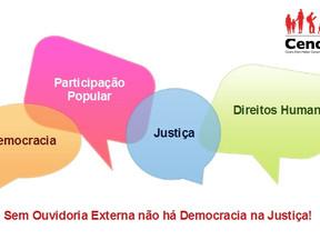Mobilizações em Pernambuco pela criação da Ouvidoria Externa na Defensoria Pública