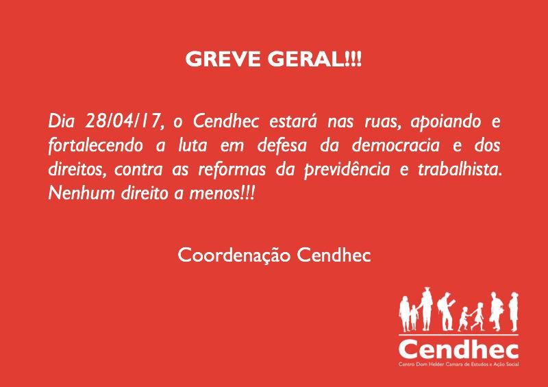 Cendhec greve geral 28/04
