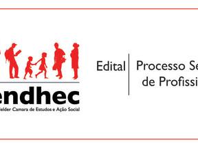 Cendhec lança edital para contratação de assistente social