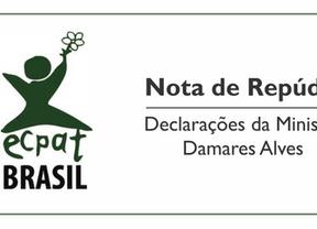 Nota de Repúdio acerca declarações proferidas por Damares Alves