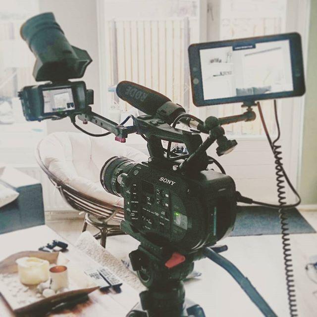Cameraman met eigen apparatuur