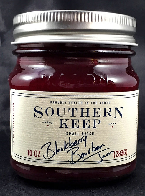 Blackberry Bourbon Jam (10oz)