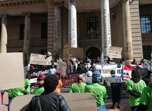 South Africa's de-centralised lockdown protests