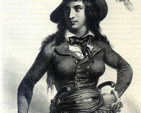 """Théroigne de Méricourt and Sarah """"Sally"""" Hemings"""