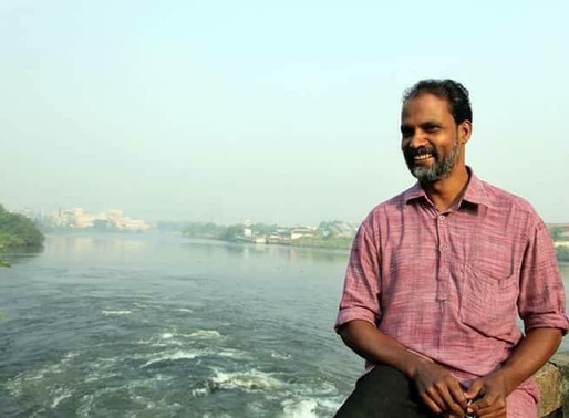 The pandemic does not stop the pollution in River Periyar