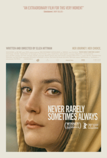 Film Review - Never Rarely Sometimes Always / Niemals Selten Manchmal Immer