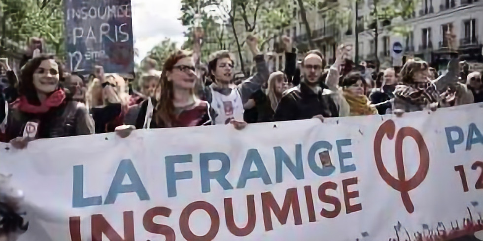 What is La France Insoumise and where are they going?