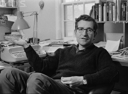 A conversation with Noam Chomsky