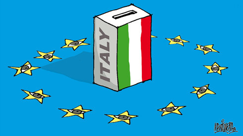 Italy - government in crisis