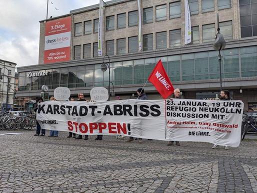 No demolition of Karstadt Hermannplatz