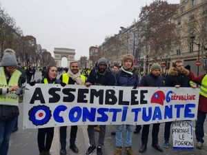 France: Macron, Yellow Vests, and Class Struggle in 2019