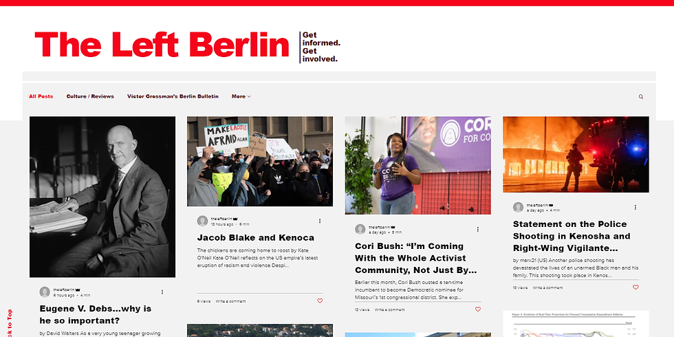 theleftberlin monthly editorial meeting