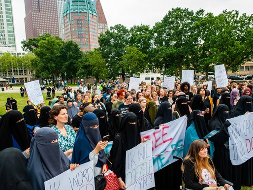 Banning a burqa that doesn't exist: the cowardice of Dutch politics. The courage of those who resist