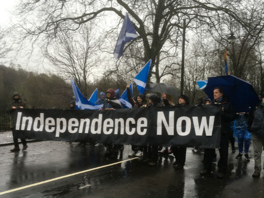 Glasgow IndyRef2 March
