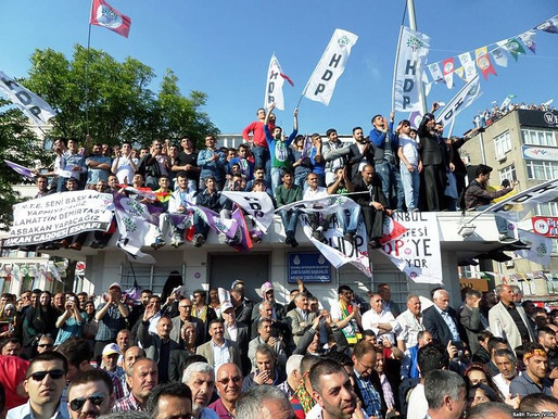 Erdogan wants to ban the HDP