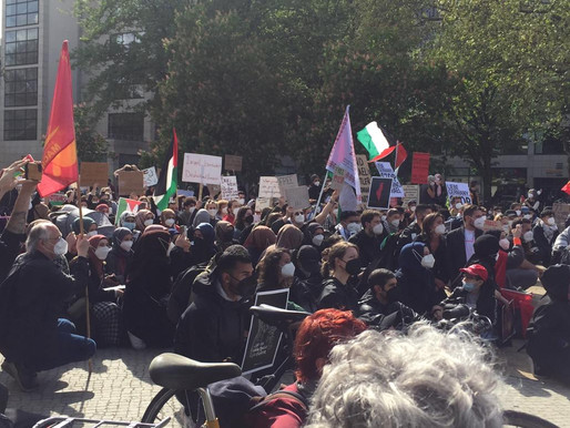 Photo and Video Gallery - Demonstration on the Day of the Nakba - 15 May 2021
