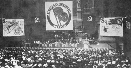"""Antifa"""" - The origins of classic antifascism and its red flag"""