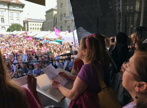New political upheavals and women alliances