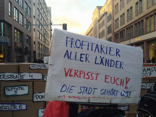 Photo Gallery - Rally in front of the Heimstaden Offices 20 November 2020